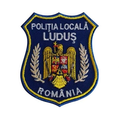 Emblema brodata Politia Locala 2 - Insemne oficiale/profesionale si grade pentru Politia Locala. Comanda acum!