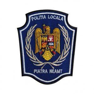 Emblema brodata Politia Locala 3 - Insemne oficiale/profesionale si grade pentru Politia Locala. Comanda acum!