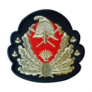 Emblema Coifura Pompieri IGSU Generali - fir metalic, de vanzare. Comanda acum sau cere oferta.Grade Militare, Embleme, Ecusoane, Nominale si Insemne pentru uniforma de politie, armata, militara, de vanzare. POLITIE, SRI, POMPIERI, MAPN.