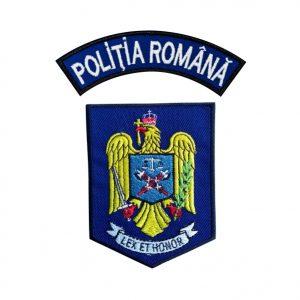 Emblema Politia Romana IGPR - Sigla Brodata - Set, de vanzare. Comanda acum sau cere oferta.