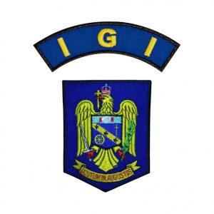 Emblema Imigrari IGI - Sigla Brodata