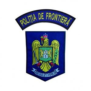 Emblema Politia de Frontiera IGPFR - Sigla Brodata