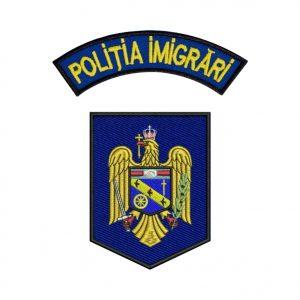 Emblema Politia Imigrari - Sigla Brodata, de vanzare. Comanda acum sau cere oferta!