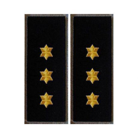 Grade Comisar Sef Politia de Frontiera gri - Insemne oficiale/profesionale si grade pentru Politia Romana IGPR. Patria et honor! Comanda acum!