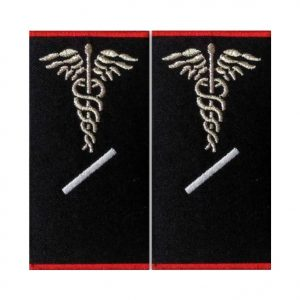 Grade Paramedic Gradul I Ambulanta - Insemne oficiale/profesionale si grade pentru personalul SMURD si AMBULANTA, grade medici, paramedici, SMURD