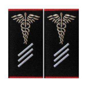 Grade Paramedic Gradul III Ambulanta - Insemne oficiale/profesionale si grade pentru personalul SMURD si AMBULANTA, grade medici, paramedici, SMURD