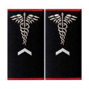 Grade asistent medical Gradul I Ambulanta - Insemne oficiale/profesionale si grade pentru personalul SMURD si AMBULANTA, grade medici, paramedici, SMURD