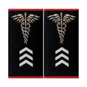 Grade Asistent Medical Gradul III Ambulanta - Insemne oficiale/profesionale si grade pentru personalul SMURD si AMBULANTA, grade medici, paramedici, SMURD