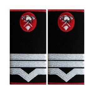 Grade Maistru Militar Clasa 3 Pompieri IGSU - Insemne oficiale/profesionale pentru Inspectoratul pentru Situații de Urgență –IGSU, Pompieri