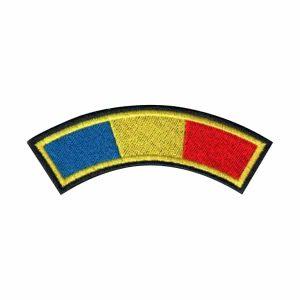 Drapel semirotund cu contur negru Grade Militare Armată Română MAPN de vânzare | Embleme Armată MAPN | Petlițe | Ecusoane | Nominale și alte însemne distinctive pentru uniforma de Armată MAPN Combat/Ripstop. *Conforme cu legislația în vigoare.