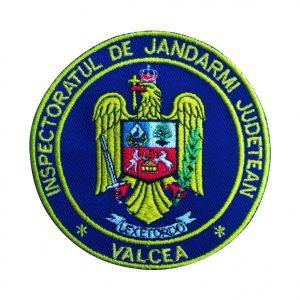 Emblema Inspectoratul de Jandarmi Judetean Arad - Sigla IJJ Arad Brodata, de vanzare. Comanda acum sau cere oferta.