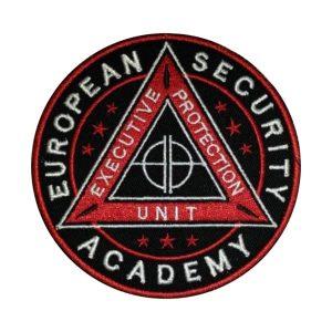 Emblema ESA Jandarmi - Sigla European Security Academy Brodată, de vanzare. Comanda acum sau cere oferta.