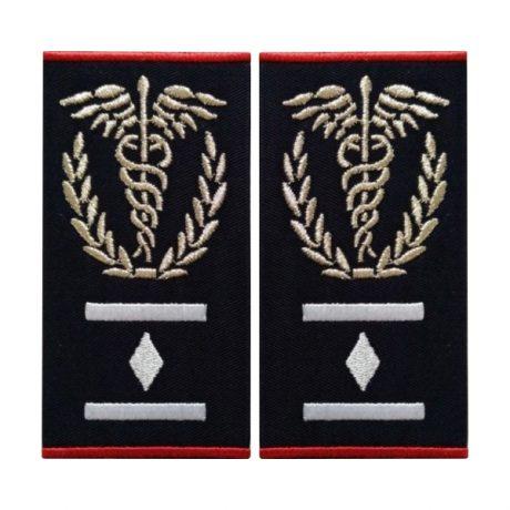 Grade medic comandant regional Gradul I ambulanta - Insemne oficiale/profesionale si grade pentru personalul SMURD si AMBULANTA, grade medici, paramedici, SMURD