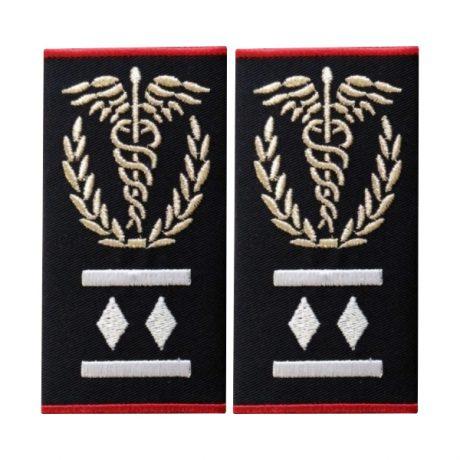 Grade medic comandant regional Gradul II ambulanta - Insemne oficiale/profesionale si grade pentru personalul SMURD si AMBULANTA, grade medici, paramedici, SMURD