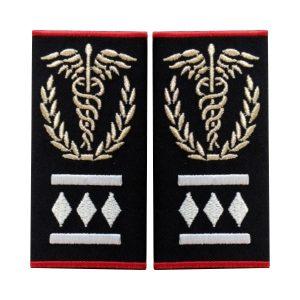 Grade medic comandant regional Gradul III ambulanta - Insemne oficiale/profesionale si grade pentru personalul SMURD si AMBULANTA, grade medici, paramedici, SMURD