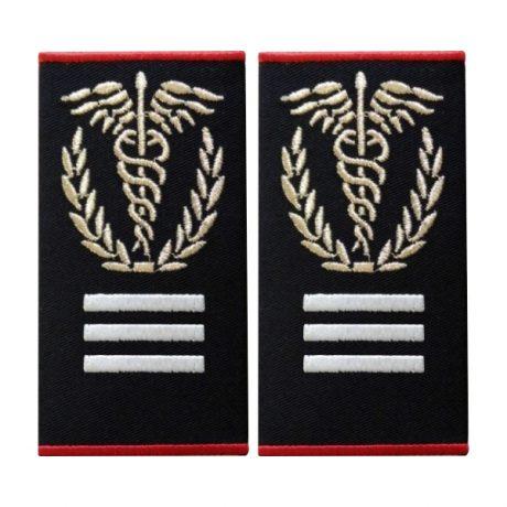 Grade Medic Sef Interventie Gradul I Ambulanta - Insemne oficiale/profesionale si grade pentru personalul SMURD si AMBULANTA, grade medici, paramedici, SMURD
