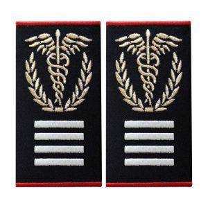 Grade Medic Sef Interventie Gradul II Ambulanta - Insemne oficiale/profesionale si grade pentru personalul SMURD si AMBULANTA, grade medici, paramedici, SMURD