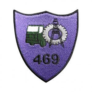Batalionul 469 Sprijin Logistic Putna Focșani - Sigla Brodată Grade Militare Armată Română MAPN de vânzare | Embleme Armată MAPN | Petlițe | Ecusoane | Nominale și alte însemne distinctive pentru uniforma de Armată MAPN Combat/Ripstop. *Conforme cu legislația în vigoare.