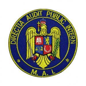 Emblema DAPI - Sigla Directia Audit Public Intern, de vanzare. Grade Militare, Embleme, Ecusoane, Nominale si Insemne pentru uniforma de politie, armata, militara, de vanzare. POLITIE,POMPIERI, MAPN.