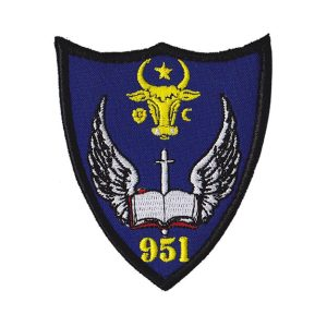 Emblema Escadrilei 951 Aviație Instrucție Avansată - Sigla Brodată de vanzare.