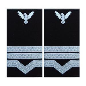 GRADE MAISTRU MILITAR CLASA 3 IGAV - AVIATIE, Grade Militare Aviație Militară | Aviație Civilă | IGAV| de vânzare | Embleme Aviație | Petlițe | Ecusoane | Nominale și alte însemne distinctive pentru uniforma Aviație. *Conforme cu legislația în vigoare.