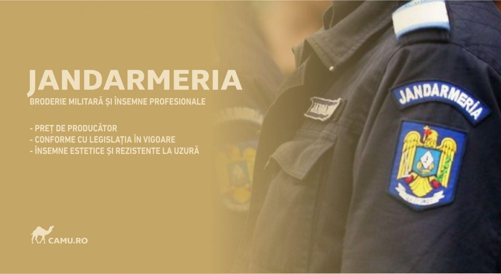 Grade Militare Jandarmerie de vânzare | Embleme | Petlițe | Ecusoane | Nominale și alte însemne distinctive pentru uniforma Jandarmeriei. *Conforme cu legislația în vigoare.