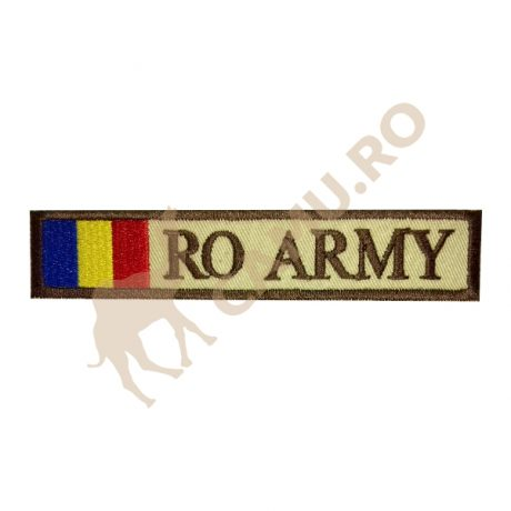 ECUSON BEJ RO ARMY – DRAPEL ROMANIA