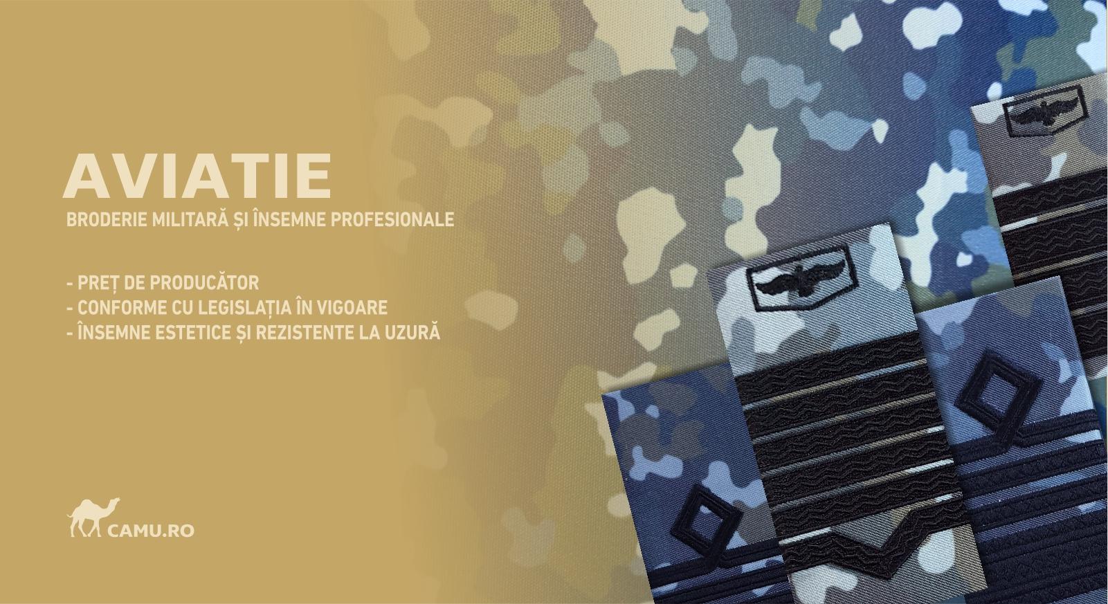 GRADE OFITERI AVIATIE COMBAT - COMANDOR Grade Militare Combat AVIATIE de vânzare | Grade Ofiteri Aviatie | Grade Subofiteri Aviatie | Grade Maistri Militari Aviatie | Embleme Aviație MAPN | Petlițe Aviație | Ecusoane Aviație | Nominale și alte însemne distinctive pentru uniforma Aviației Române MAPN Combat/Ripstop.